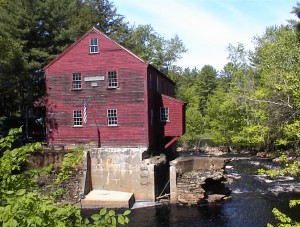 Old Grist Mill Lebanon Maine